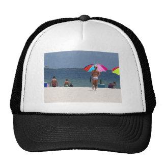 Verano hermoso gorras de camionero