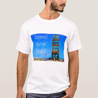 Verano, sol, playa camiseta