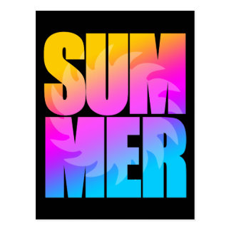 Verano Sun del tigre 80s de Corey Tarjeta Postal