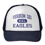 Verbum Dei - Eagles - alto - Los Ángeles Gorros Bordados