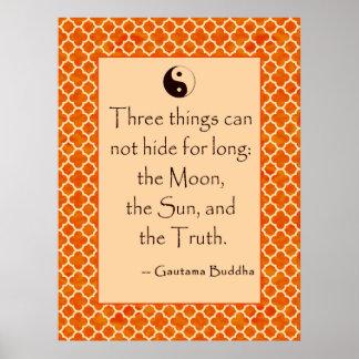 Verdad de la cita de Buda…. en los posters