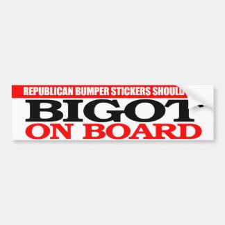Verdad republicana de la pegatina para el