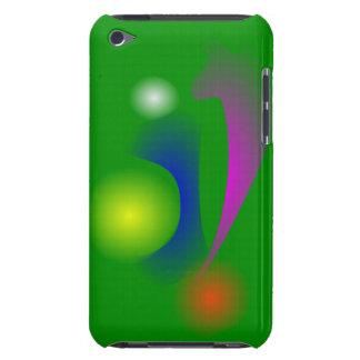 Verdad verde del flor barely there iPod cobertura