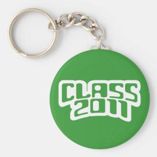 Verde 2011 de la MOD de la clase Llavero Redondo Tipo Chapa