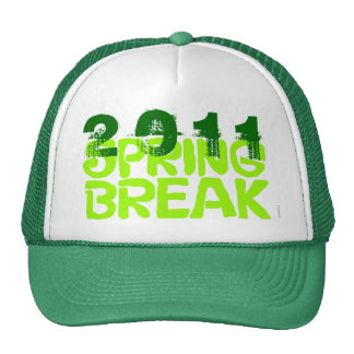 Verde 2011 del gorra 5 de las vacaciones de