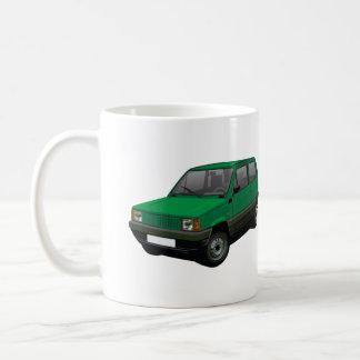 Verde 30/45 de Fiat Panda Taza De Café