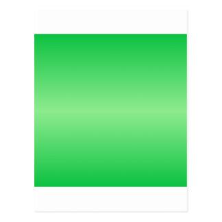 Verde 3 - Verde en colores pastel y verde claro Postal