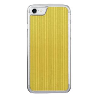 Verde amarillo chartreuse de las rayas verticales funda para iPhone 7
