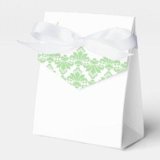 Verde antiguo 2 de la primavera de caja del favor