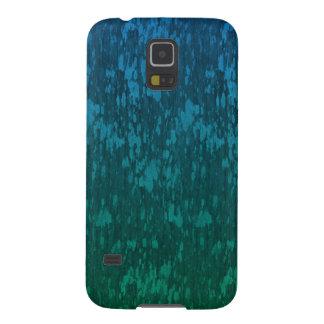 verde azul abstracto funda galaxy s5
