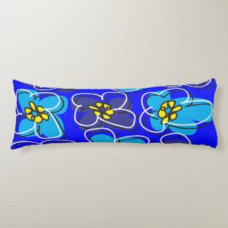 Verde azul de la almohada reversible retra del