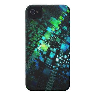 Verde azul iPhone 4 carcasas