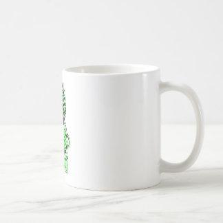 Verde británico del león rv del emblema el GIF de  Tazas De Café