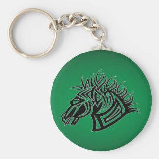 verde-caballo llaveros