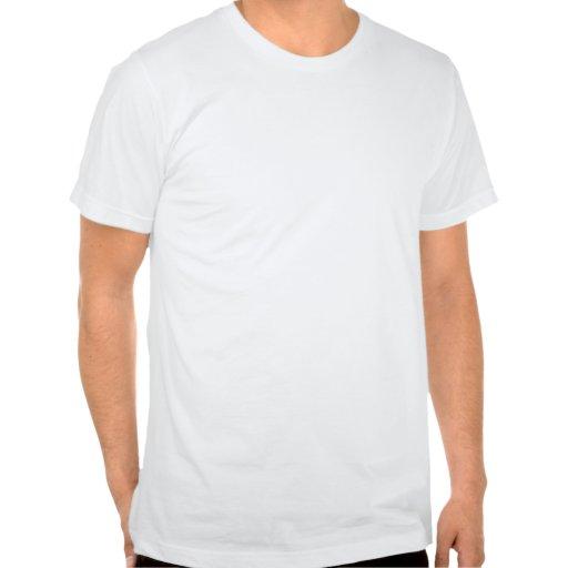 Verde claro con el modelo de puntos blanco camiseta