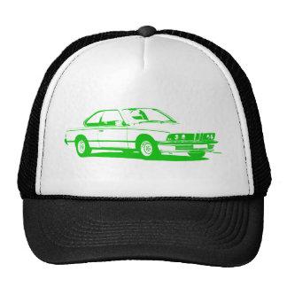 Verde clásico de BMW Gorro De Camionero