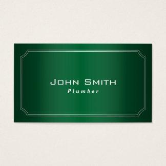 Verde con clase enmarcado sondeando la tarjeta de