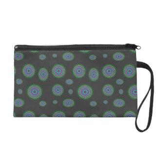 Verde cosmético del cerchio del bolso