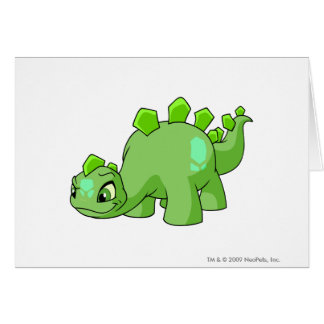 Verde de Chomby Tarjeta De Felicitación