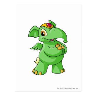 Verde de Elephante Postal