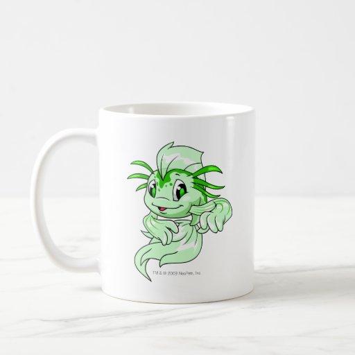 Verde de Koi Tazas