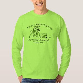 Verde de la camisa de la tropa del DSA