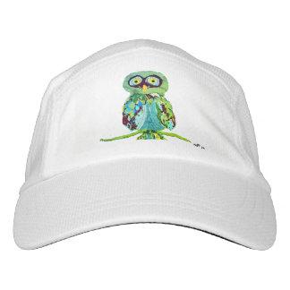 Verde de la gorra de béisbol del búho gorra de alto rendimiento