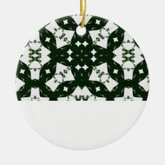 Verde de la guirnalda del navidad ornamentos de reyes magos