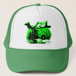 verde de los alces gorra de camionero