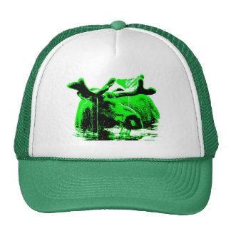 verde de los alces gorras