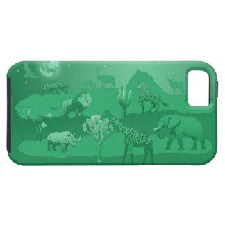 Verde de los animales iPhone 5 Case-Mate cárcasas