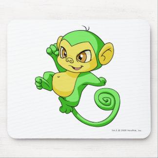 Verde de Mynci Alfombrilla De Ratón