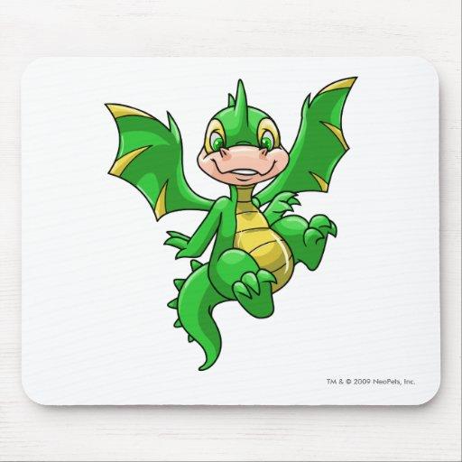 Verde de Scorchio Alfombrilla De Ratones