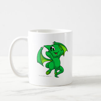 Verde de Shoyru Tazas De Café