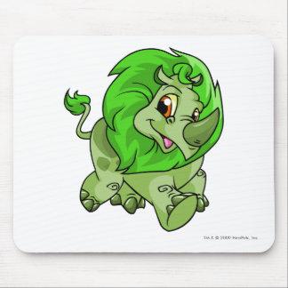 Verde de Tonu Alfombrilla De Ratón
