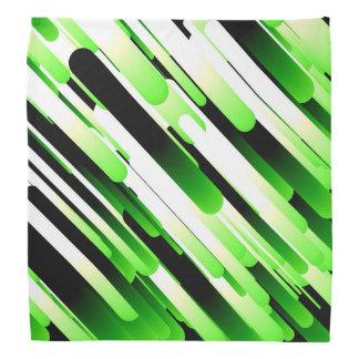 Verde del alto contraste bandanas