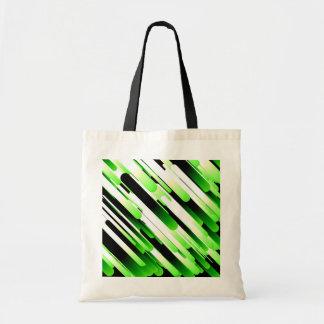 Verde del alto contraste bolsa tela barata