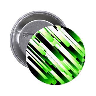 Verde del alto contraste chapa redonda de 5 cm