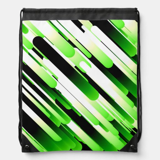 Verde del alto contraste mochila