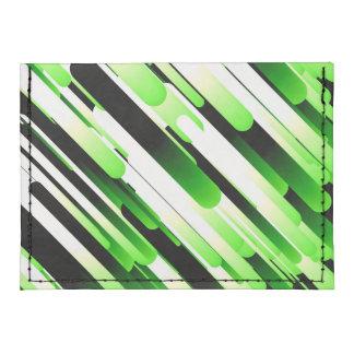 Verde del alto contraste tarjeteros tyvek®