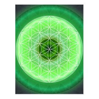 verde del chakra de 4 corazones creado por Tutti Postal