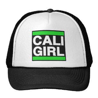 Verde del chica de Cali Gorro De Camionero