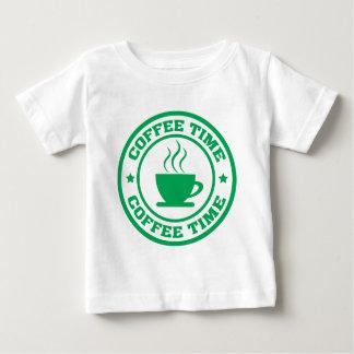 Verde del círculo del tiempo del café A251 Camiseta