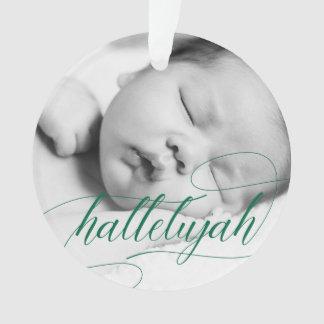 Verde del día de fiesta del Hallelujah el | del Adorno