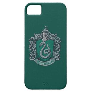 Verde del escudo de Slytherin iPhone 5 Protector