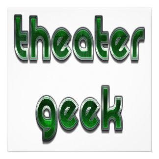 Verde del friki del teatro