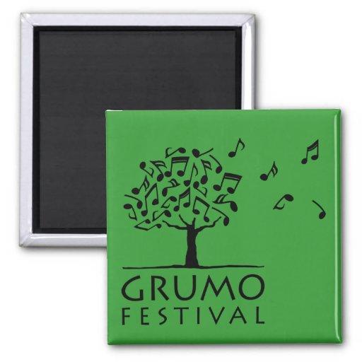 Verde del imán del festival de Grumo