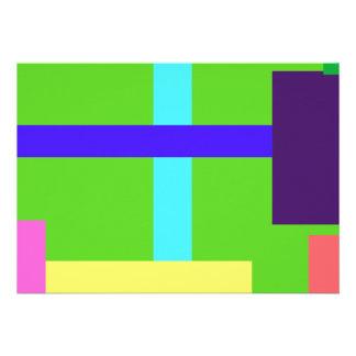 Verde del Minimalist Comunicado Personalizado
