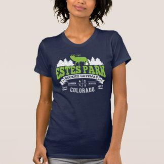 Verde del vintage del parque de Estes Camiseta