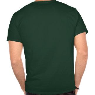 Verde en la camisa verde de la gama del juego